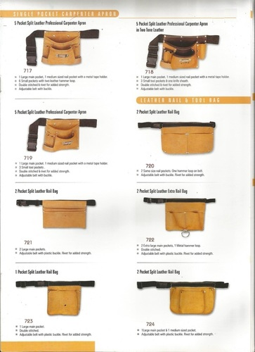 Leather Technician Pouch