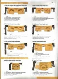 Leather Electrician Pouch/ Apron