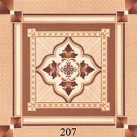 Ivory Matt Print Ceramic Floor Tiles