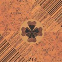 Fancy Wooden Glossy Flooring Tiles