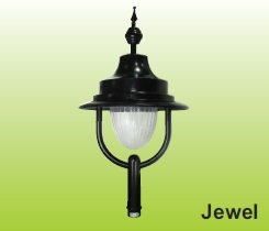 Decorative Post Top Luminary in Aluminium Spinning Housing