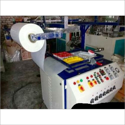 Semi Automatic Themocol Plate Making machine