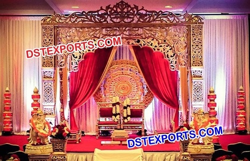 Exclusive Bollywood Wedding Stage Set