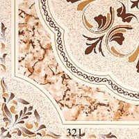 Brown Pattern Glossy Floor Tiles