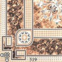 Designer Flower Glossy Floor Tiles
