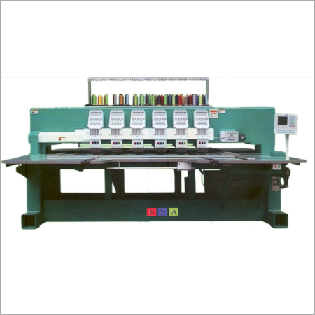 Flat Embroidery Machine