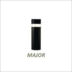 Decorative Bollard having Clear Acrylic Diffuser