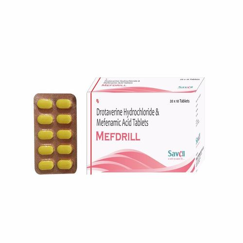 Drotaverin Mefenamic Acid Tablets