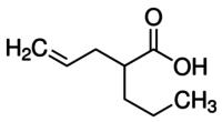 (±)-2-Propyl-4-pentenoic acid