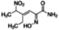 (±)-(E)-4-Ethyl-2-[(E)-hydroxyimino]-5-nitro-3-hexenamide ≥98%