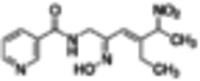 (±)-(E)-4-Ethyl-2-[(Z)-hydroxyimino]-5-nitro-3-hexen-1-yl-nicotinamide ≥97%