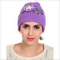 Ladies Designer Woolen Cap