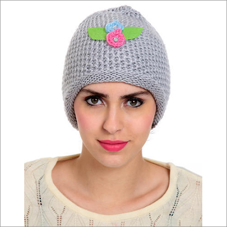 Ladies Stylish Woolen Cap