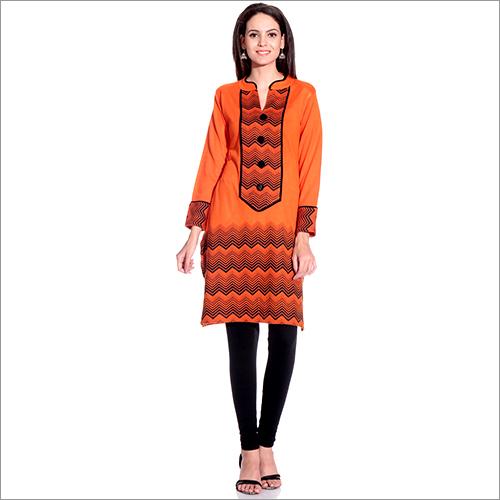Designer Woolen Kurti
