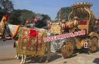 Indian Horse Buggy Carriage For Wedding