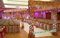 Fiber Wedding Mandap Entrance Gate