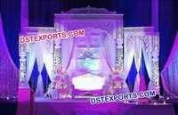 Indian Filmy Style Wedding Stage Set