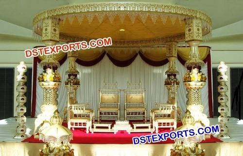 Ganesha Wedding Mandap Decoration
