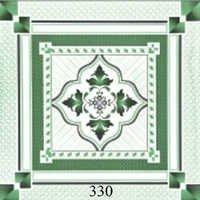 Green Design Glossy Floor Tiles