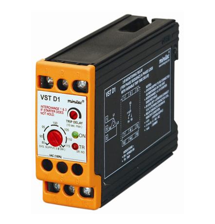 Minilec Phase Failure Relays VST D1