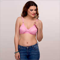 Pink Ladies Bra