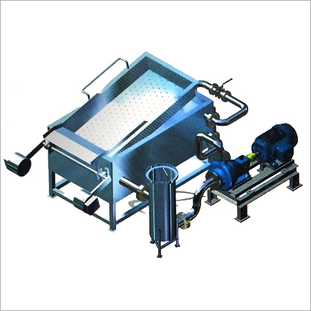 Rectangular Fryer With Inbuilt Heat Exchanger