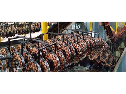Fan Stator Varnish Conveyor