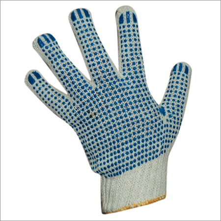Dotted Safety Gloves
