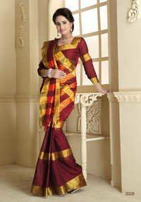 Cotton Print Sarees