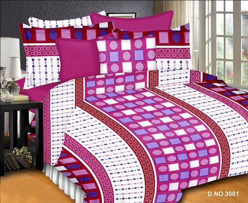 Digital Prints Bed Sheets