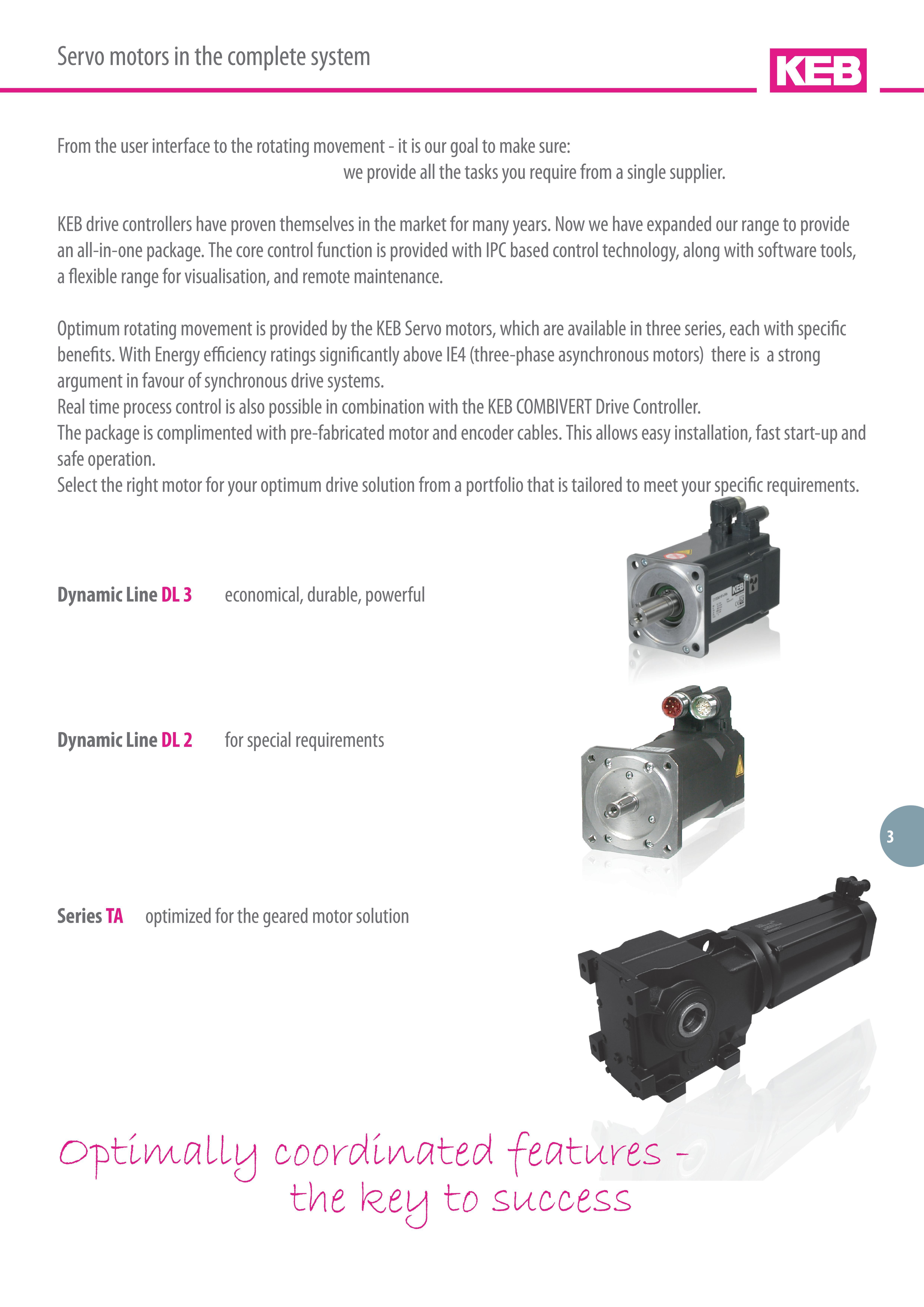 Servo Motors For Motion Control Application