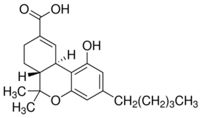 (−)-11-nor-9-Carboxy-Δ9-THC solution