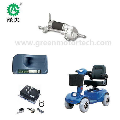 Transaxle With 24v Dc Motor