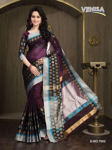 Pure Fancy Cotton Sari