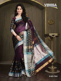 Pure Fancy Cotton Saree
