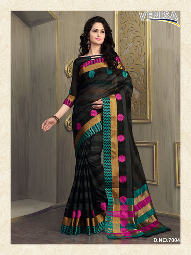 Art Silk Cotton Saree