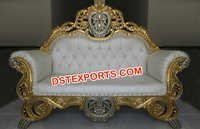 Engagement Wedding Carved Sofa Set