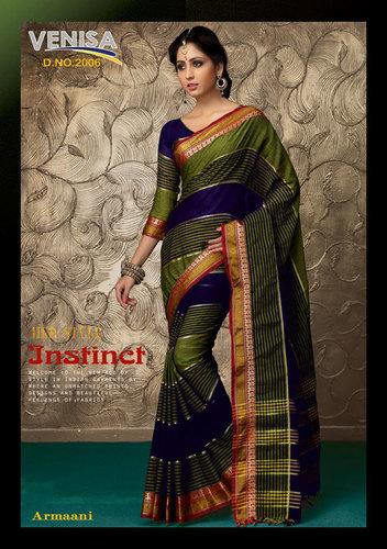 Indian Cotton Saree