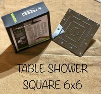 6x6 Table Shower