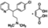 (±)-Chlorpheniramine maleate salt