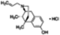 (+)-N-Allylnormetazocine hydrochloride