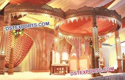 Rajasthani Wedding Mandap