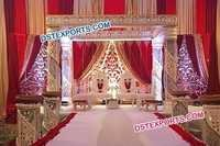 Grand Crystal Swirl Mandap