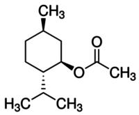 (1R)-(−)-Menthyl acetate