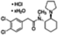 (−)-trans-(1S,2S)-U-50488 hydrochloride hydrate