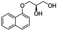(2R)-3-(1-Naphthalenyloxy)-1,2-propanediol