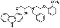 (2RS)-1-{Benzyl[2-(2-methoxyphenoxy)ethyl]amino}-3-(9H-carbazol-4-yloxy)-2-propanol