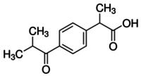 (2RS)-2-(4-Isobutyrylphenyl)propionic acid
