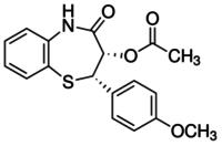 (2S)-cis-3-(Acetyloxy)-2,3-dihydro-2-(4-methoxyphenyl)-1,5-benzothiazepin-4(5H)-one