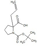 2-Allyl-1-boc-proline
